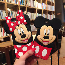 For iPhone Xs Max Minnie Mickey Mouse Disney Silicone Soft Shockproof Phone Case