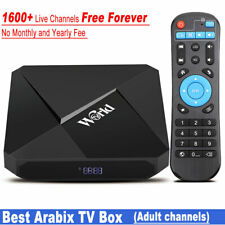 NEW IPTV Box Free Lifetime Subscription No Monthly Fee 1600+ Channels 2G 16G