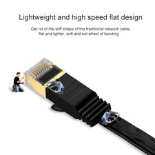 For PC Laptop 10Gbps RJ45 Patch Cable Cord Cat7 Ethernet Cable Lan Network