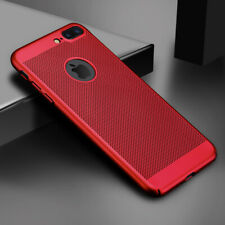 Ultra Slim Phone Case For iPhone 6 6s 7 8 Plus Hollow Heat Dissipation Cases