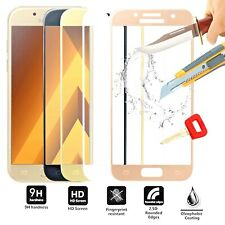 3D FULL COVER SAMSUNG Galaxy A7 2017 / A720 Tempered Glass Screen Protector Film