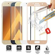 3D FULL COVER Samsung Galaxy S6 Tempered Glass Screen Protector 9H Hardness Film