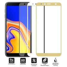 FULL COVER SAMSUNG GALAXY J4 PLUS J4+ Tempered Glass Screen Protector Film