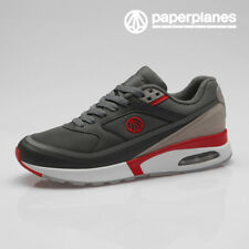 Paperplanes Mens Air Cushioned Athletic Shoes Walking Running Sneakers 1421 DGR