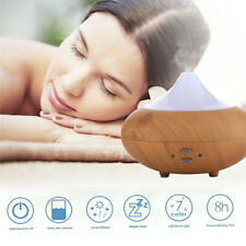 Ultrasonic Led Essential Oil Aroma Diffuser Air Purifier Aromatherapy Humidifier