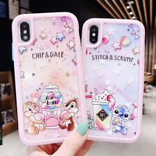Relief Cartoon Stitch Soft UNBreak Phone Case Cover For Apple iPhone 6-XS Max