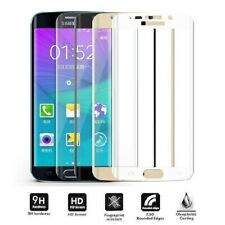SAMSUNG GALAXY S6 EDGE 3D FULL COVER Curved Tempered Glass Screen Protector Film