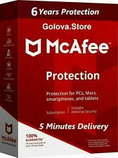 McAfee Total Protection Antivirus 2019 1 Device 6 Years 30/8/2025 Official Web
