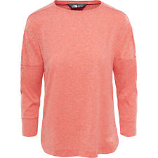 The North Face Inlux Three Quarter Womens T-shirt Long Sleeve - Fire Brick Red