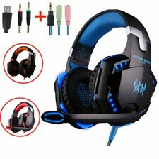 Gaming Headset with Light Mic Stereo Earphone for PC Computer Game PS4 New X-BOX