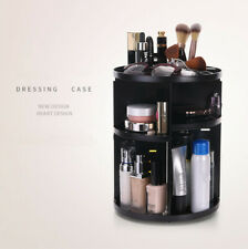 360 Degree Rotating Makeup Cosmetic Organizer Storage Womens Beauty Holder Box