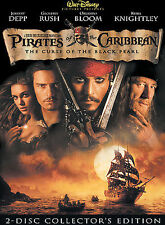 Pirates of the Caribbean The Curse of The Black Pearl (DVD, 2003,Special Edition