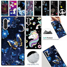 For Samsung Galaxy Note 10+ Plus Case Patterned Soft Rubber TPU Gel Slim Cover