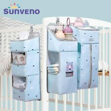 Newborn Portable Baby Crib Organizer Bed Hanging Bag for Baby Essentials Diaper