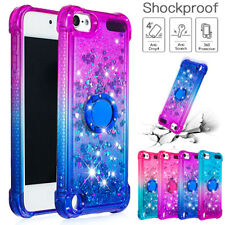 For iPod Touch 7th Gen 2019 5th 6th Case Bling Diamond Quicksand Soft TPU Cover