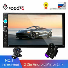 "Podofo 2 din Car Radio 7"" HD Autoradio Multimedia Player 2DIN Touch Screen Auto"