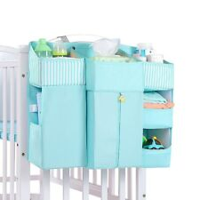 Baby Crib Cot Bed Storage Bag Hanging Pocket Diaper Nappy Clothes Organizer for
