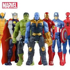 30cm Marvel Avengers Endgame Thanos Spiderman Hulk Iron Man Captain America