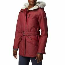 Columbia Carson Pass Ii Womens Jacket Synthetic Fill - Beet All Sizes