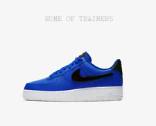 Nike Air Force 1 '07 LV8 Racer Blue Black White Men's Trainers All Sizes