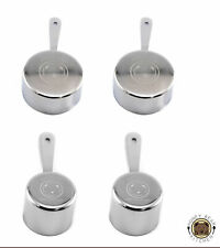 Honey Bear Kitchen Measuring Cups, Polished Stainless Steel 2 Packs