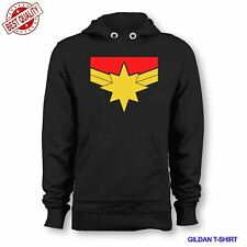 NEW CAPTAIN MARVEL SUPER HEROES HOODIE USA SIZE