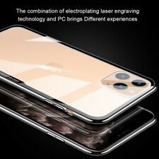 Tempered Glass Cover For iPhone 11 Pro Max XS XR X 7 8 Clear Hard Back Case