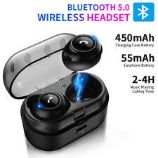 Bluetooth 5.0 CP7 Mini TWS Headset Wireless Earphones Earbuds Stereo Headphones