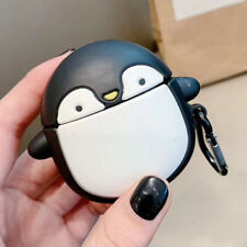 The penguin Wireless Bluetooth Earphone Case charging box For Apple AirPods Pro