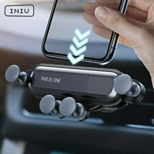 INIU Gravity Car Holder For Phone in Car Air Vent Clip Mount No Magnetic Mobile