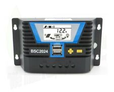 10A/20A 12V/24V LCD Solar Panel Lithium Battery Regulator Charge Controller USB
