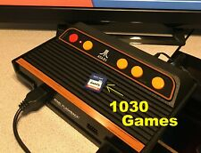 SD Card ONLY 1000+ LIBRARY for Atari 2600 Flashback 9 or Flashback 9 Gold