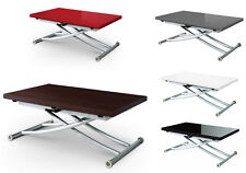 Table basse laquee fly plateau relevable soley ebay - Table basse relevable fly ...