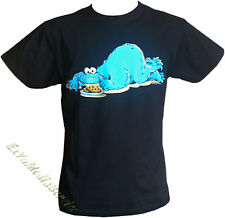 T-Shirt GORGEOUS MONSTER MEAL Sesamstraße Lizenz Shirt Sesame Street COOKIE cool