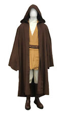 Star Wars Mace Windu Costume + Dark Brown Jedi Robe Film Set Quality from UK