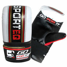 Sporteq Pro Bag Mitts Boxing Gloves Punch Training UFC MMA