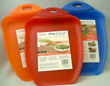Cutting Board CHOP & SCOOP Brand New 9.5 X 13 FREE SHIPPING USA Product
