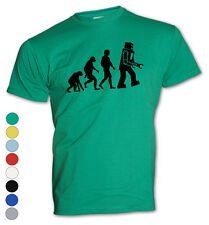 ★T-Shirt - The Big Bang Theory - Sheldon-Robot evolution -Hemd -Fun Neu S-XXL ★