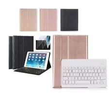 Bluetooth Wireless Keyboard Folio PU Leather Case for iPad Air 1st Gen iPad 5