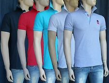 T-shirt Polo Uomo Red Jeack Slim Fit Varianti colori Taglia M L XL XXL XXXL