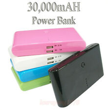 30000MAH BATTERY CHARGER POWER BANK for IPHONE IPAD SAMSUNG S2 S3 S4 NOTE 2 HTC