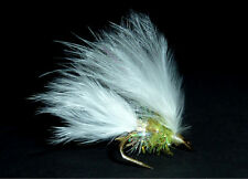 3x or 6x  WHITE CAT  (SCOTD17) WEE DOUBLE Trout, Sea Trout & Salmon Flies