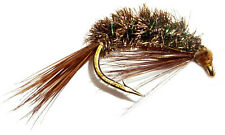 3x, 6x or 12x Fly Fishing Trout Flies (NN13) - DIAWL BACH  - Trout  Fly
