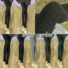 Sexy Leggins Damen Stirrup Pantyhose Warm Leggings Hosen Strumpfhosen Treggins