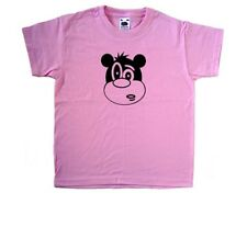 Cartoon Bear Pink Kids T-Shirt