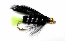 3x, 6x or 12x Fly Fishing Trout Flies (GBL6) - GOLDHEAD VIVA LURE - Trout Fly