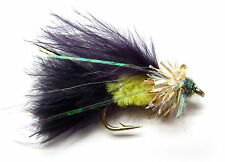 3x, 6x or 12x Fly Fishing Trout Flies (NFG6) FRITZ VIVA GOLD TOP Trout Fly