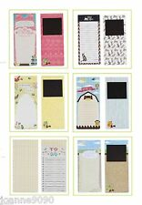MAGNETIC FRIDGE MAGNET NOTEPAD MEMO SHOPPING TO DO LIST KITCHEN NEW HOME GIFT