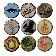 """Divergent Badges Various 2.5 cm 1"""" Button Pin HandCrafted Teens Pack Gift Kids"""
