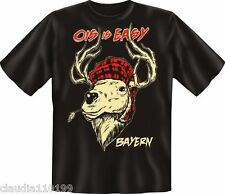 FUN SHIRT - T-SHIRT - OIS IS EASY - BAYERN - GR S-M-L-XL-XXL ; NEU  ( 1689 )